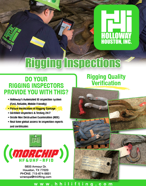 Rigging Inspection Services