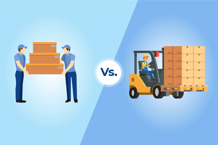 Manual Vs. Automated Material Handling