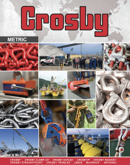 Crosby Catalog 2016 Metric